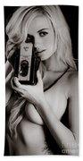 Sexy Photographer Beach Towel