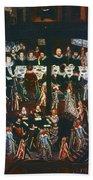 Sir Henry Unton (c1557-1596) Beach Towel