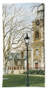 St Johns Church Wapping London Beach Towel