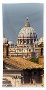 St Peters Basilica Beach Towel