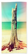 Standing Alone Beach Towel