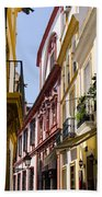 Streets Of Seville - Magic Colours Beach Towel