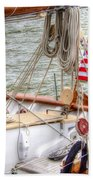 At The Helm Beach Towel