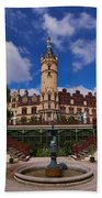 The Castle Of Schwerin Beach Towel