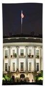 The White House Beach Towel