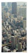 Tokyo, Japan Beach Towel