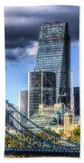 Tower Bridge And The City Beach Towel