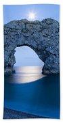 Under The Moonlight Beach Sheet
