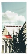 3-v Motel St Francisville La Beach Towel