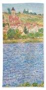 Vetheuil Beach Towel