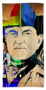 Willie Nelson Collection Beach Towel