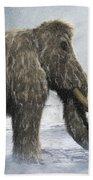 Woolly Mammoth Beach Towel