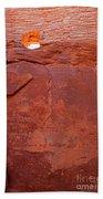 Wupatki Pueblo In Wupatki National Monument Beach Towel