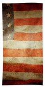 American Flag Rippled Beach Towel