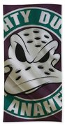 Anaheim Ducks Beach Towel