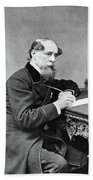 Charles Dickens (1812-1870) Beach Towel