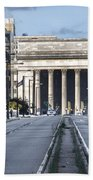 30th Street Station From Jfk Blvd Beach Towel