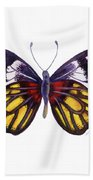 31 Delias Henningia Butterfly Beach Towel