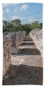 Edzna In Campeche Beach Towel
