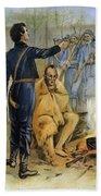 Abraham Lincoln (1809-1865) Beach Sheet