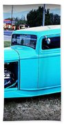 32 Ford Victoria Two Door Beach Towel
