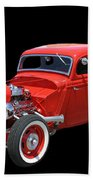 34 Ford Coupe Beach Towel