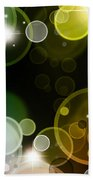 Abstract Background Beach Towel by Les Cunliffe