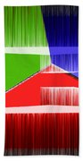 3d Abstract 3 Beach Towel by Angelina Vick