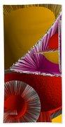 3d Abstract 6 Beach Towel