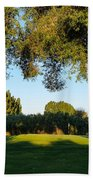 3rd Green At Quilchena  Beach Towel