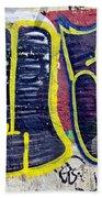 3t Graffiti Beach Towel