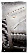 1940 Nash Sedan Grille Beach Towel