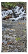 Alaskan Waterfall Beach Towel