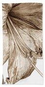 Amaryllis Beach Towel