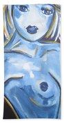 Art Nude Beach Towel