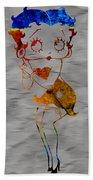 Betty Boop Beach Towel