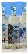 Carey Chen Fine Art Wines Beach Towel