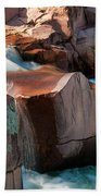 Castor River Beach Towel