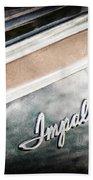 Chevrolet Impala Emblem Beach Towel