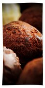 Chocolate Truffles Beach Sheet