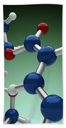 Cocaine Molecule Beach Towel