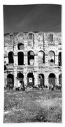 Colosseum Beach Towel by Stefano Senise