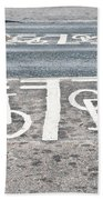 Cycle Path Beach Towel by Tom Gowanlock