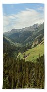 Engineer Pass In Colorado  Beach Towel