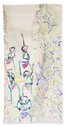 Five Wise Virgins Beach Towel