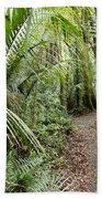 Forest Trail Beach Towel