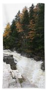 Franconia Notch White Mountians Beach Towel