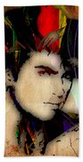 George Michael Collection Beach Towel
