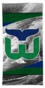 Hartford Whalers Beach Towel