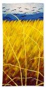 Homage To Van Gogh Beach Towel by John  Nolan
